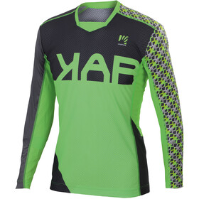 Karpos Jump LS Jersey Men green fluo/dark grey